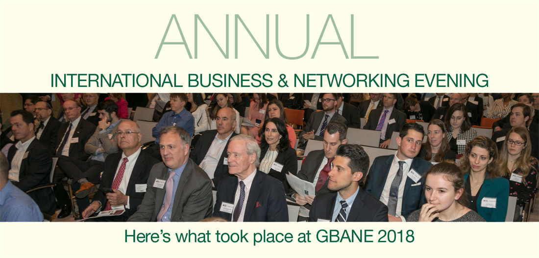 Annual International Business & Networking Evening